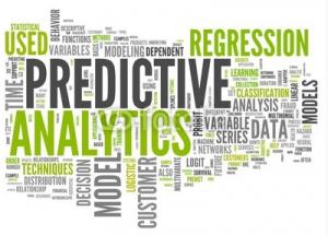 predictive analytics word cloud